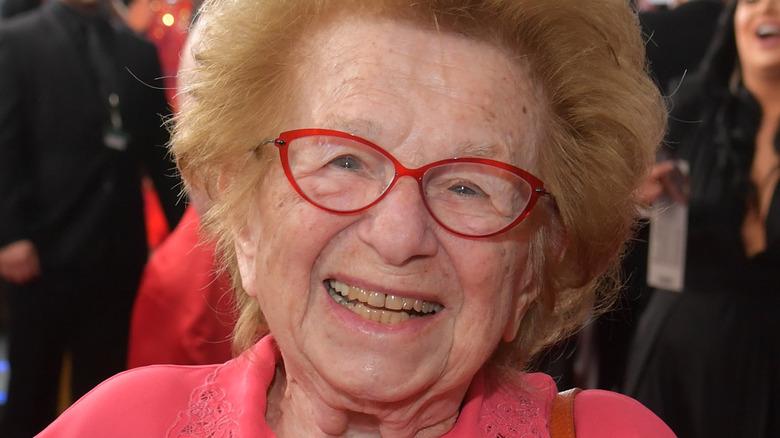 Dr. Ruth smiler