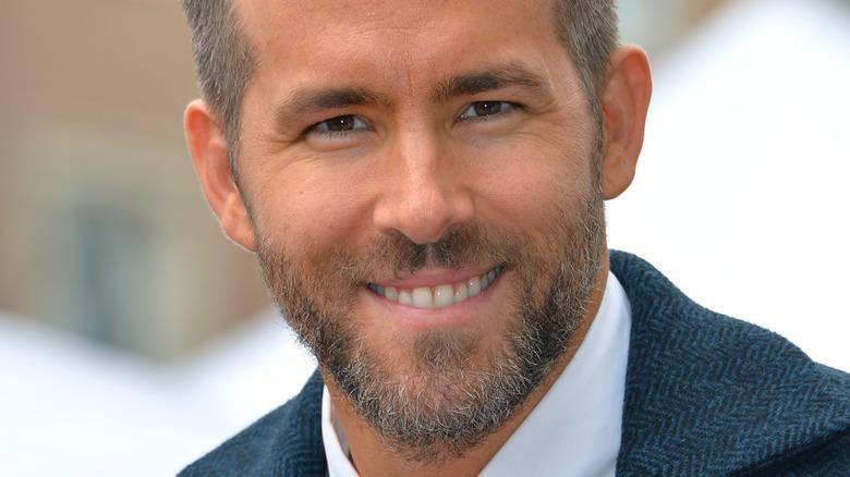 Ryan Reynolds smiler