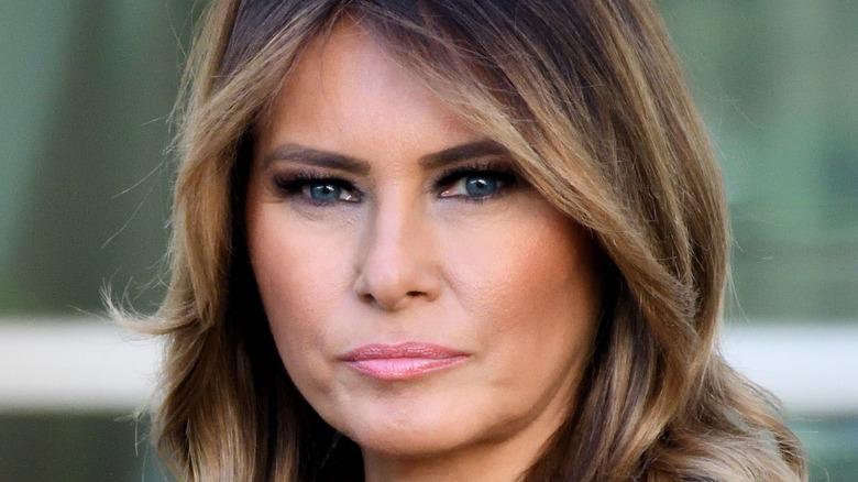 Melania Trump rynker pannen