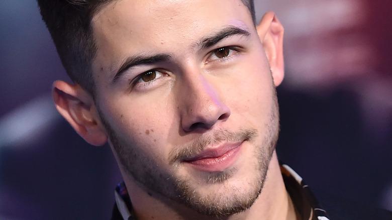 Nick Jonas smiler