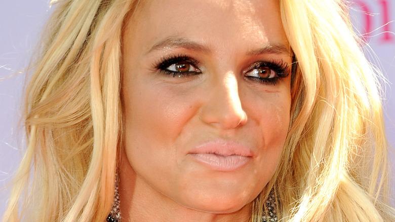 Britney Spears naken leppe