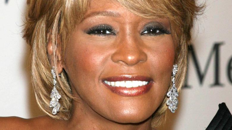 Whitney Houston smiler
