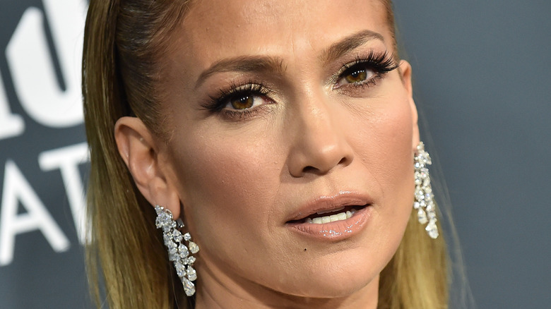 Jennifer Lopez på rød løper