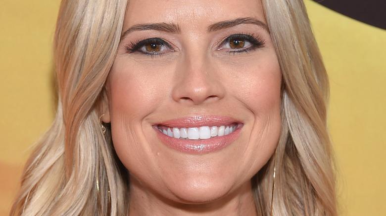 Christina Haack smiler