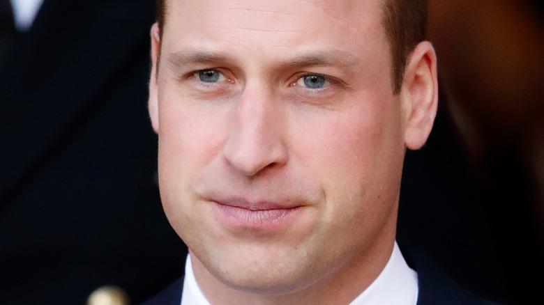 Prins William blå øyne