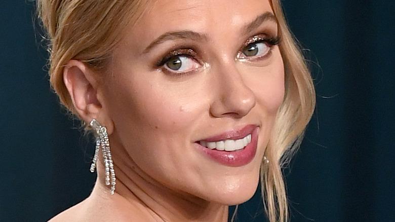 Scarlett Johansson på den røde løperen