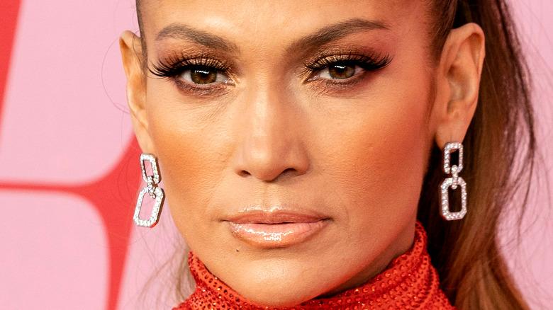 Jennifer Lopez på den røde løperen