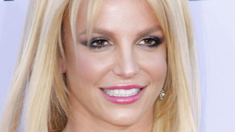 Britney Spears rosa leppestift