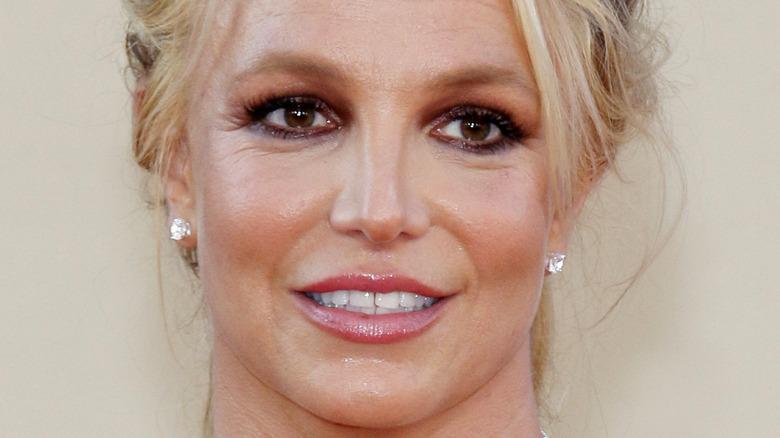 Britney Spears på en rød løper i 2019
