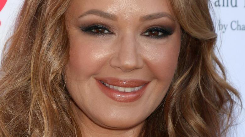 Leah Remini smiler