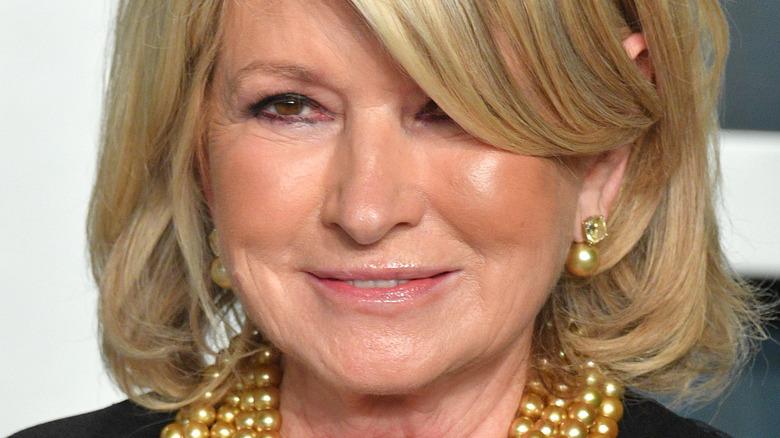 Martha Stewart smiler