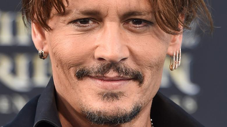 Johnny Depp smiler
