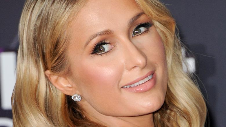Paris Hilton på arrangementet