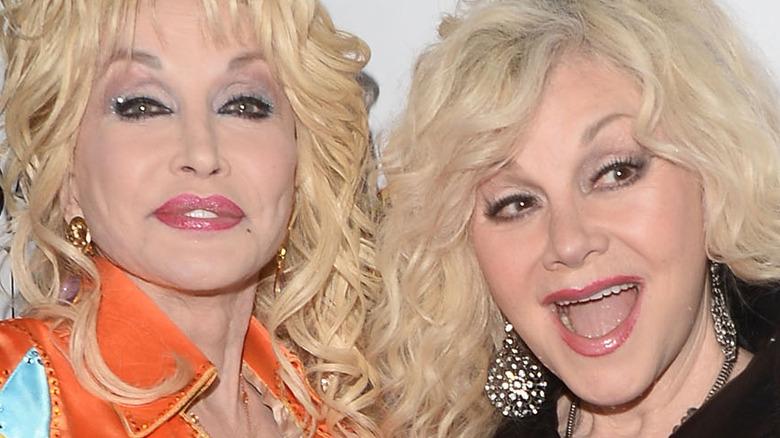 Dolly Parton og søster Stella Mae