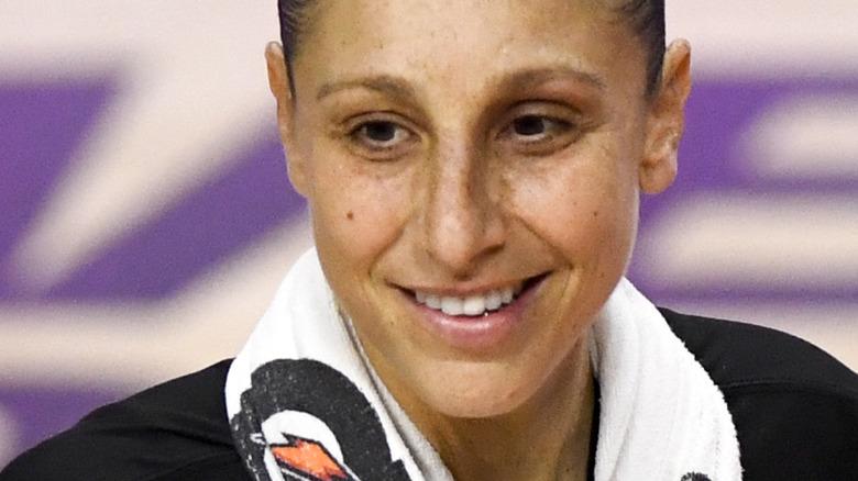 Diana Taurasi på basketballbane