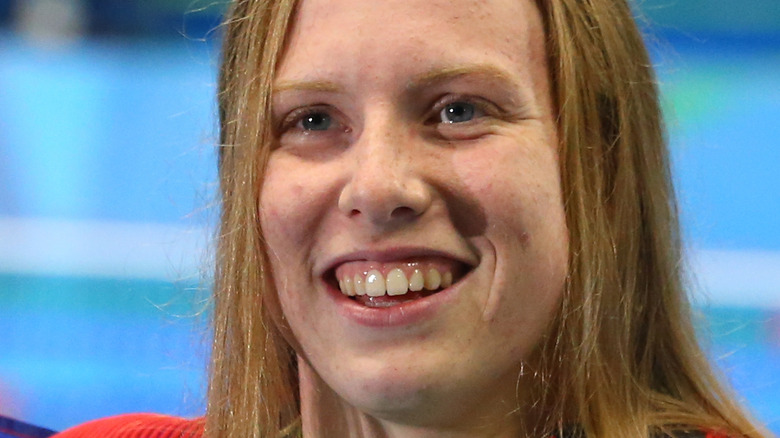 Lilly King ved Rio-OL
