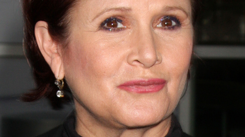 Carrie Fisher, poserer