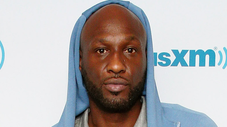 Lamar Odom besøker SiriusXM Studios