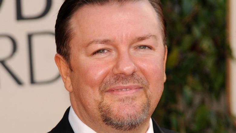 Ricky Gervais smiler