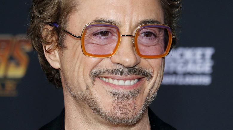 Robert Downey Jr. på den røde løperen