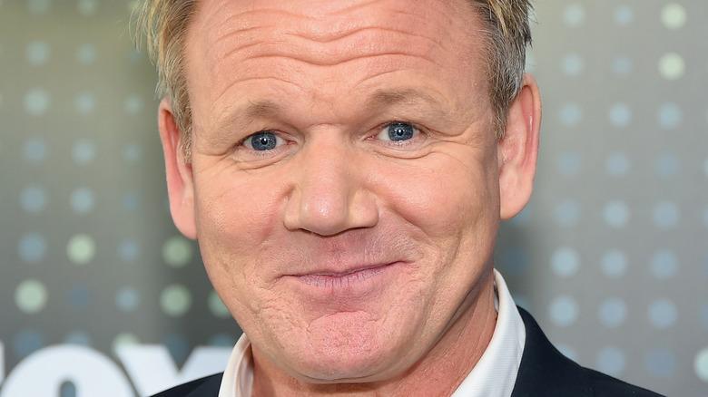 Gordon Ramsay smiler