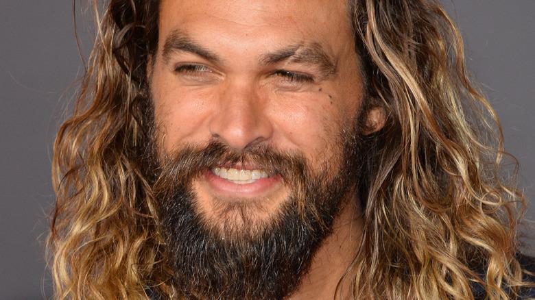 Smiler Jason Momoa