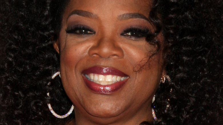 Oprah Winfrey smiler