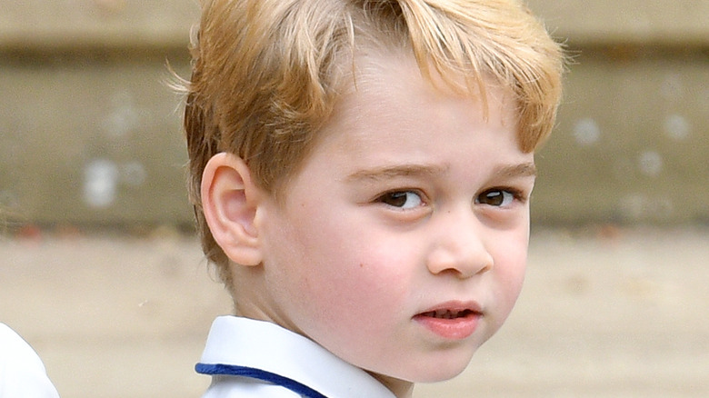 Prins George ansikt