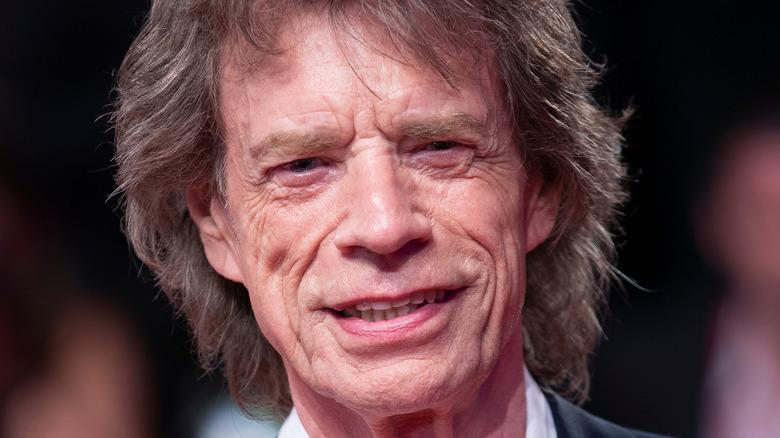 Mick Jagger på en rød løper