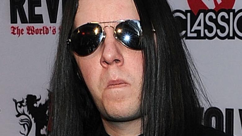 Joey Jordison fra Slipknot ved den 2. årlige Revolver Golden Gods Awards i 2010
