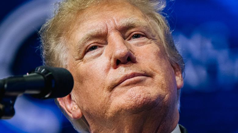 Donald Trump på et Arizona-møte