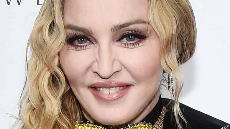Madonna smiler