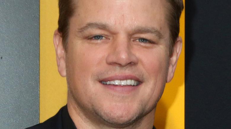 Matt Damon smiler