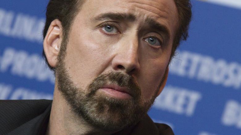 Nicolas Cage på et pressearrangement