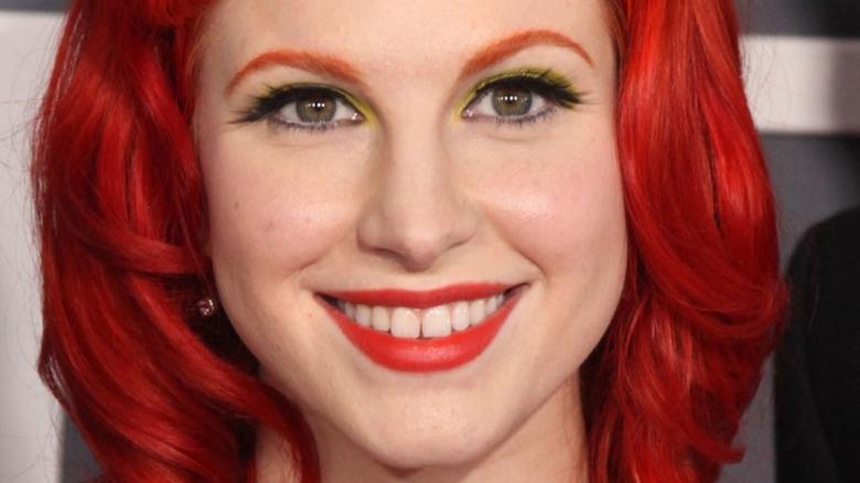 Hayley Williams rødt hår