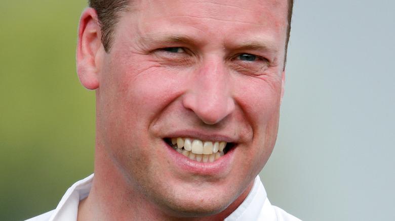 Prins William smiler