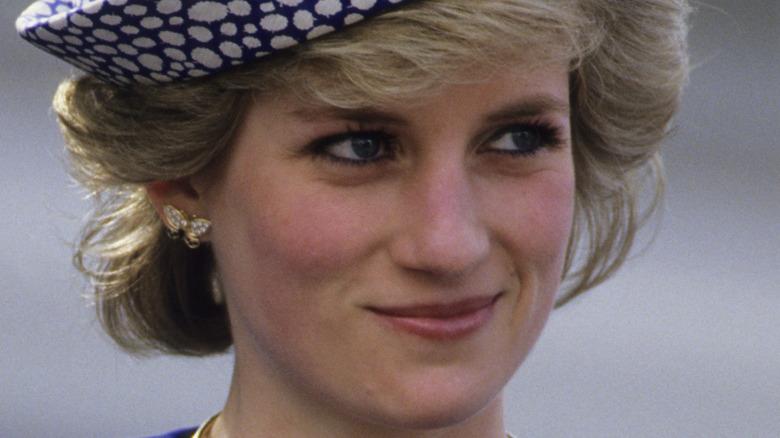 Prinsesse Diana ler i 1988