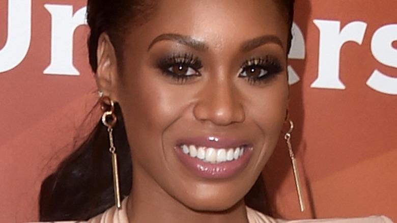 Monique Samuels deltar på NBC Universal Summer Press Day 2017