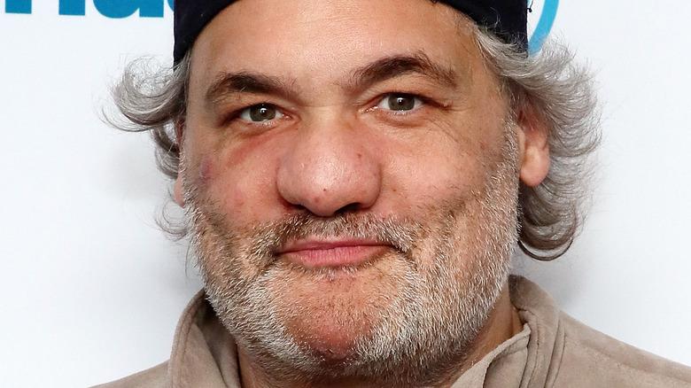 Artie Lange, iført hatt, skjegg