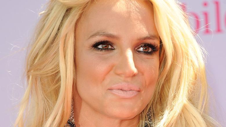 Britney Spears på den røde løperen i 2016