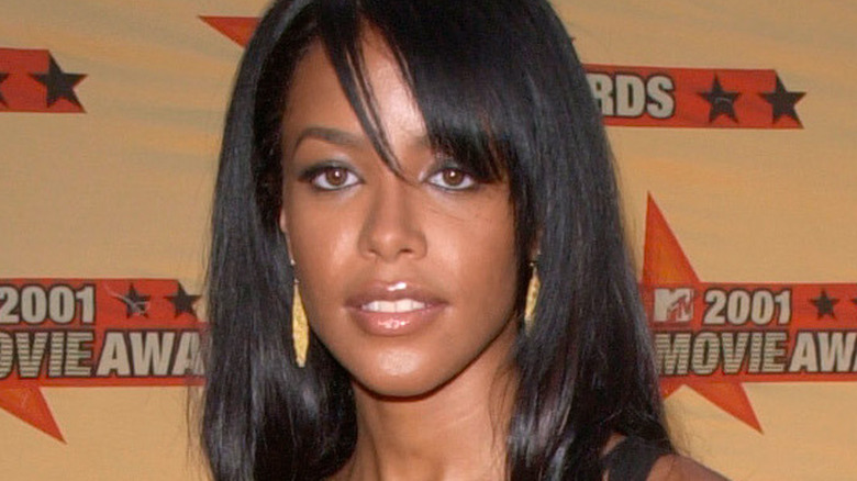 AALIYAH på MTV Movie Awards i Los Angeles