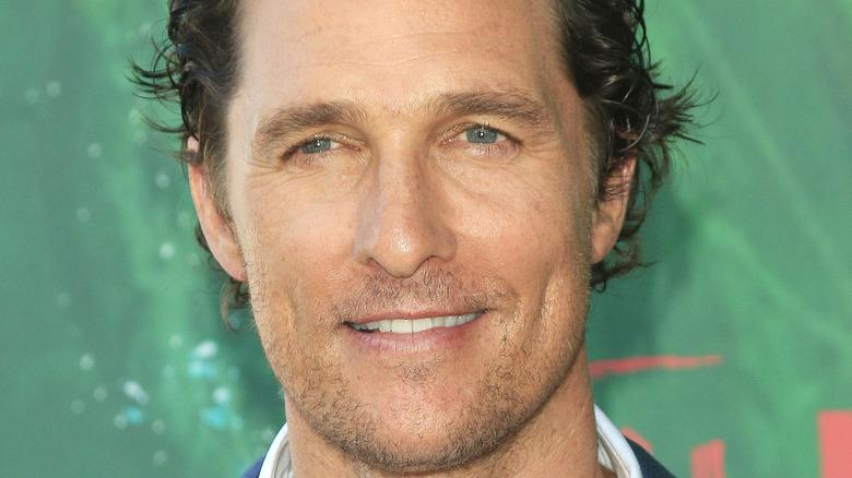 Matthew McConaughey smiler
