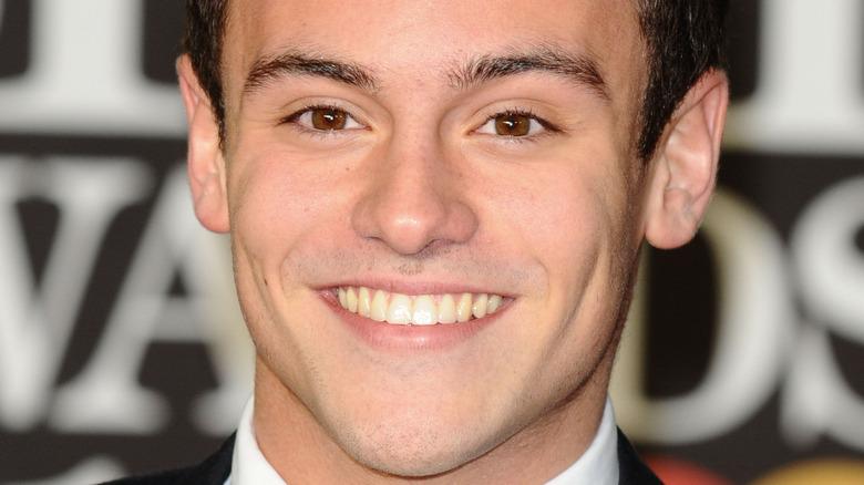 Tom Daley smiler