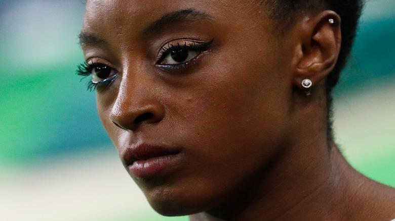 Simone Biles ved OL i 2020