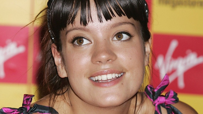 Lily Allen smiler