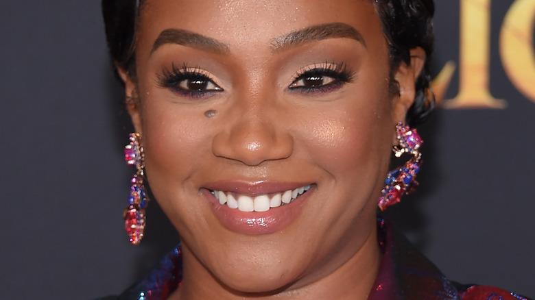 Tiffany haddish kort hår juvel øreringer