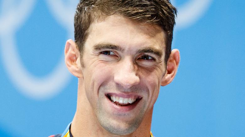 Michael Phelps smiler