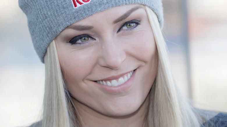 Lindsey Vonn smiler