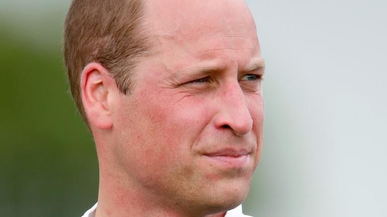 Prins William spiller av