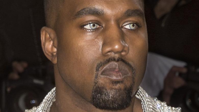 Kanye West på den røde løperen